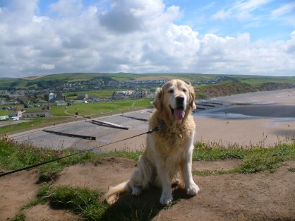 Jack at St Bees