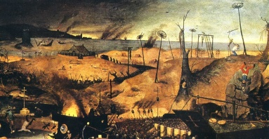 Pieter Breughel the Elder, from 'The Triumph of Death'